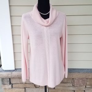 Dana Buchman Pink Sweater Large